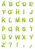 Alphabet Letters Set Stock Photos