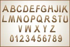 Alphabet  letters symbols alphabet Royalty Free Stock Image