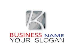 Alphabet Logo Design in rectangular shape square Royalty Free Stock Photography