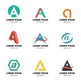 Alphabet a logo Stock Photos