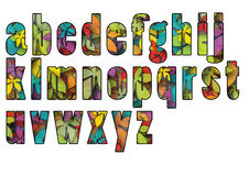 Alphabet Lower case Royalty Free Stock Images