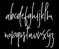 Alphabet manuscrit de vecteur de Ballpen Illustration Stock
