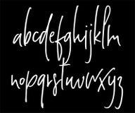 Alphabet manuscrit de vecteur de Ballpen Photos stock