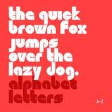 Alphabet minuscule illustration de vecteur