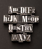 Alphabet-Mischung lizenzfreie stockfotos