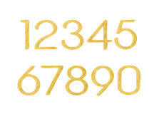 Alphabet number abc word sign cork board. Alphabet number abc word sign by cork board Royalty Free Illustration