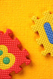 Alphabet and number Blocks Stock Images