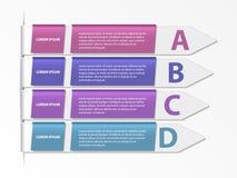Alphabet options banner Stock Photo
