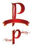 Alphabet p Royalty Free Stock Photos