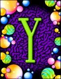 alphabet party y απεικόνιση αποθεμάτων