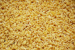 Alphabet pasta Royalty Free Stock Photos