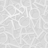 Alphabet pattern Royalty Free Stock Photos
