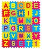 Alphabet-Puzzlespiel Lizenzfreie Stockfotos