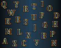 Vector Alphabet Set Royalty Free Stock Images