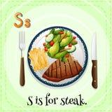 Alphabet S Image stock