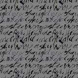 Alphabet seamless pattern. Royalty Free Stock Photos