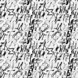 Alphabet seamless pattern. Royalty Free Stock Photo