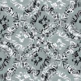 Alphabet seamless pattern. Royalty Free Stock Image