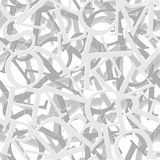 Alphabet seamless vector pattern. For your background Royalty Free Stock Photo