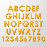 Alphabet Set Royalty Free Stock Image