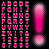 Alphabet set Royalty Free Stock Images