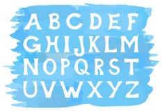 Alphabet set of capital letters Stock Photo