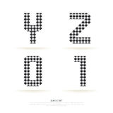 Alphabet set , vector illustration. block style. Stock Photo