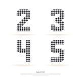 Alphabet set , vector illustration. block style. Royalty Free Stock Photography