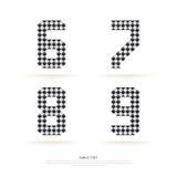 Alphabet set , vector illustration. block style. Royalty Free Stock Photo