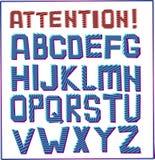 Alphabet sign royalty free illustration