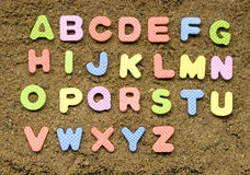 Alphabet sign Royalty Free Stock Photography