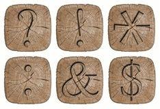 Alphabet signs Royalty Free Stock Photos