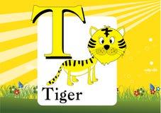 Alphabet-T Image libre de droits