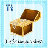 Alphabet T Stock Photography
