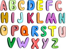 Alphabet,vector Royalty Free Stock Photo
