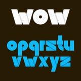 Alphabet vector font. Letters for logo. Set of alphabet letters. Vector font type 10 eps vector illustration