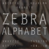 Alphabet vector set Royalty Free Stock Images