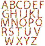 Alphabet von Drogen Stockbild
