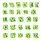 Alphabet royalty free illustration