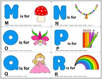 Alphabet word Royalty Free Stock Images