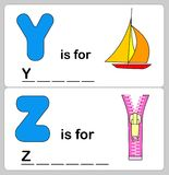 Alphabet word Stock Image