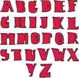 Alphabet A-Z Stockfotos
