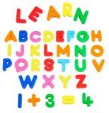 Alphabete. Stockfotografie