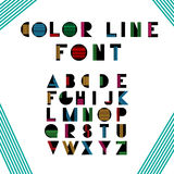 Alphabetic fonts Stock Photos