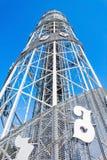 Alphabetic Tower, Batumi Stock Photos