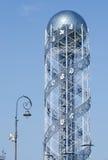 Alphabetic Tower located on seaside,Batumi,Georgia Stock Image