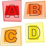 Alphabetikonen Lizenzfreies Stockfoto