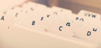 Alphabetischer Organisatorbehälter für Visitenkarten lizenzfreie stockfotografie