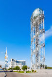 Alphabetischer Turm, Batumi Lizenzfreie Stockfotos