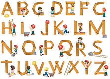 Alphabets Stock Photo